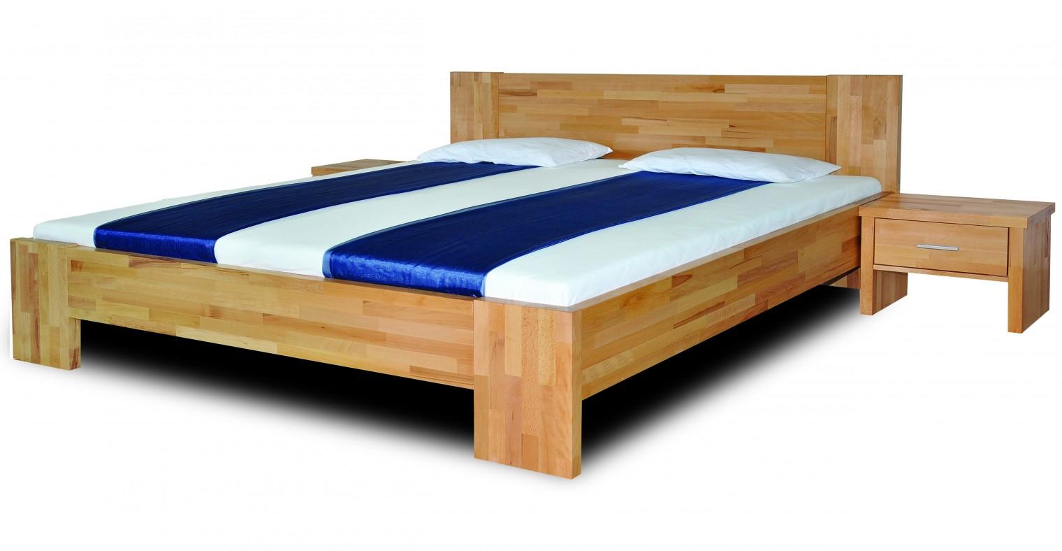 Masivní Fortuna - rám postele (rozměr ložné plochy - 200x180)
