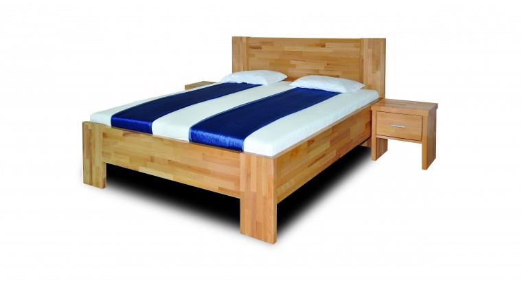 Masivní Fortuna - rám postele (rozměr ložné plochy - 200x80)