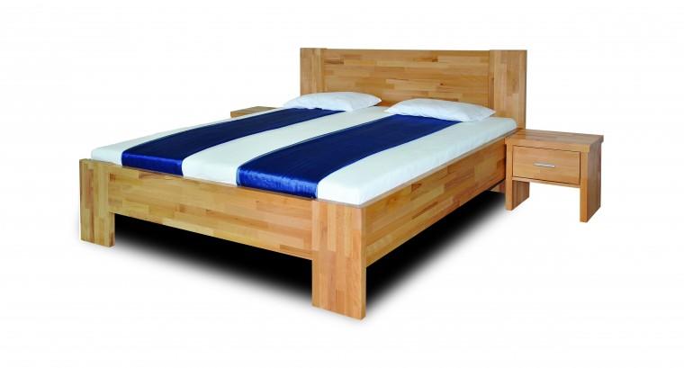 Masivní Fortuna - rám postele (rozměr ložné plochy - 200x90)