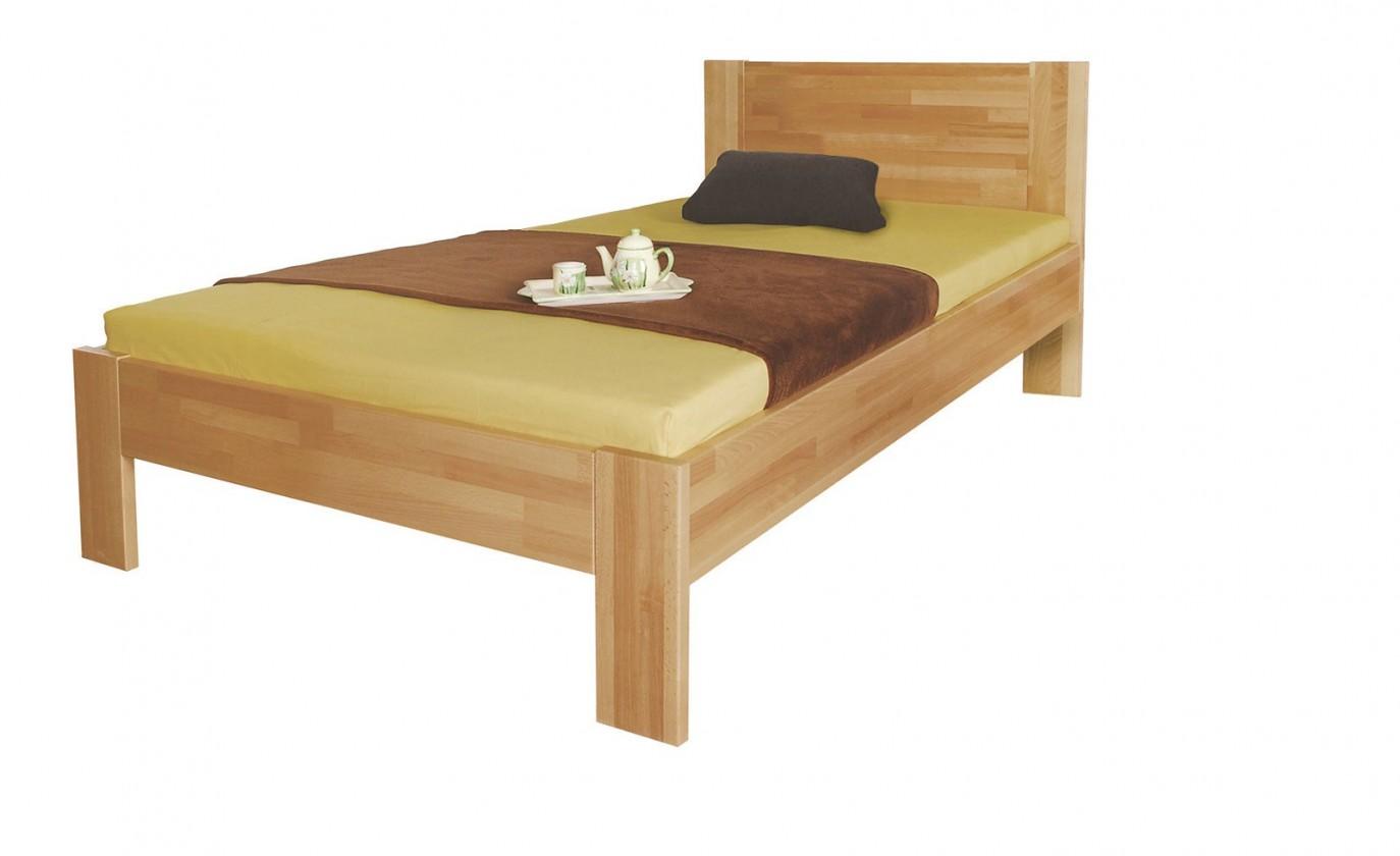 Masivní Gemma - rám postele (rozměr ložné plochy - 200x100)