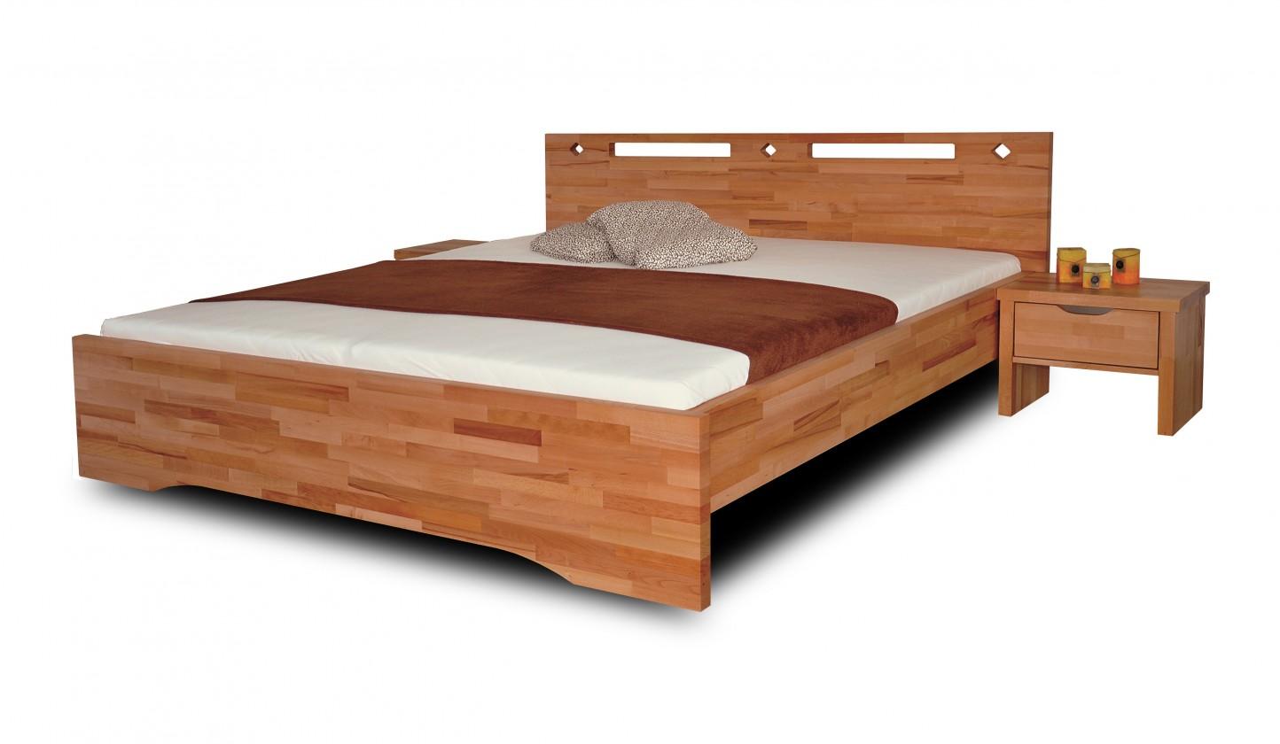 Masivní Olympia - rám postele (rozměr ložné plochy - 200x160)