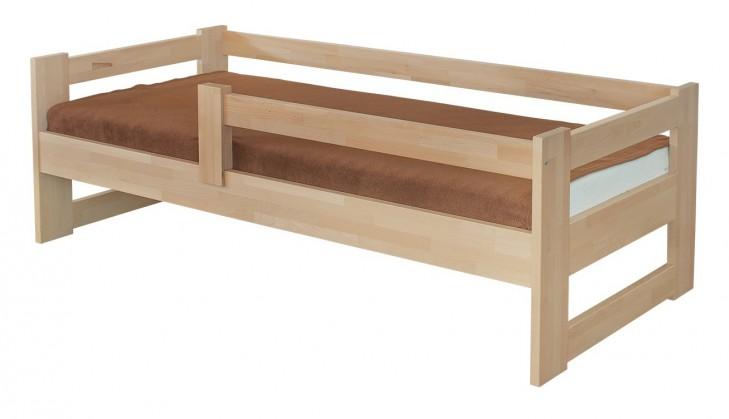 Masivní Sante - rám postele se zábranou (rozměr ložné plochy - 200x90)