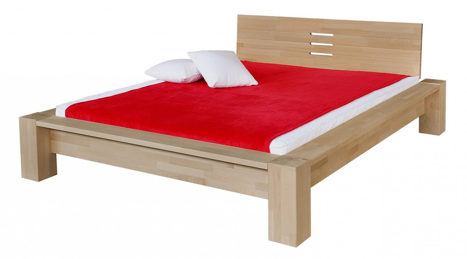 Masivní Savina - rám postele (rozměr ložné plochy - 200x140)