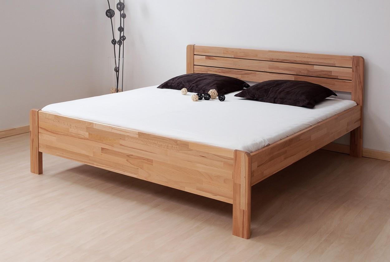 Masivní Sofia - postel 200x120 + rošt