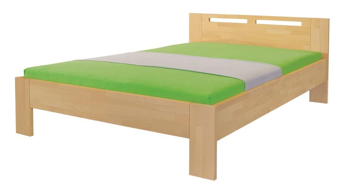 Masivní Velia - rám postele (rozměr ložné plochy - 200x100)