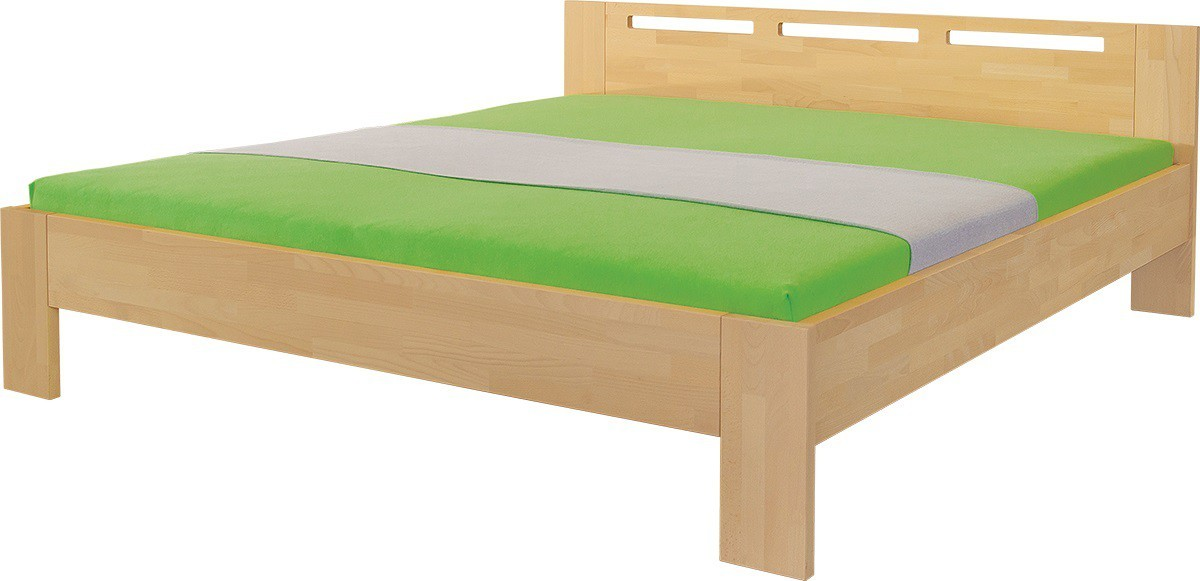 Masivní Velia - rám postele (rozměr ložné plochy - 200x140)