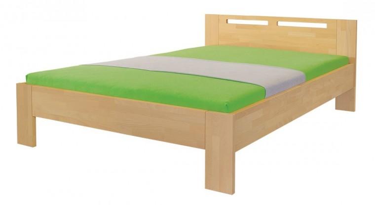 Masivní Velia - rám postele (rozměr ložné plochy - 200x80)
