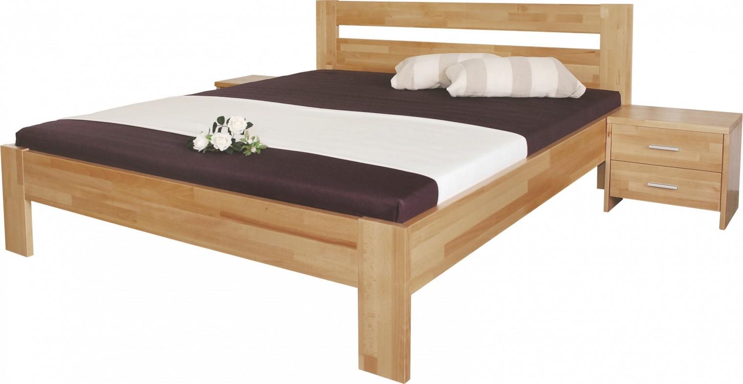 Masivní Vitalia - rám postele 200x140