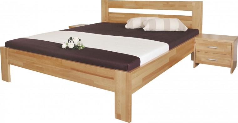 Masivní Vitalia - rám postele 200x180