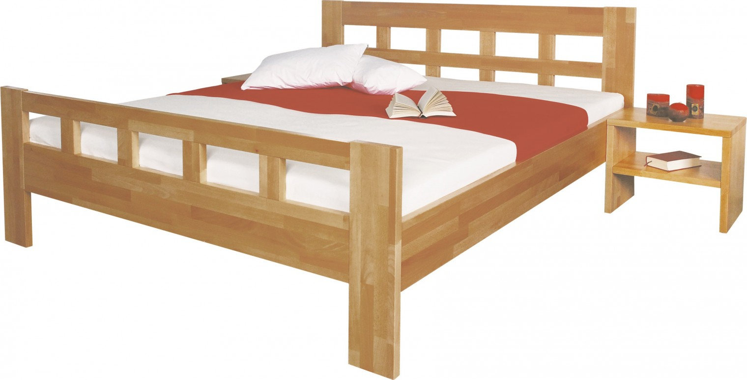 Masivní Viviana - rám postele 200x100