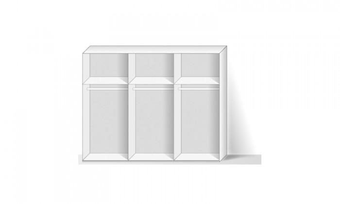 Match Up - Korpus skříně (alpská bílá)