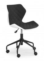 MATRIX - dětská židle, černá, regulace výšky sedáku
