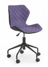 MATRIX - dětská židle, fialová, regulace výšky sedáku