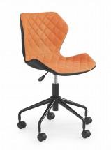 MATRIX - dětská židle, oranžová, regulace výšky sedáku