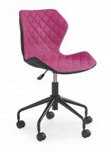 MATRIX - dětská židle, růžová, regulace výšky sedáku