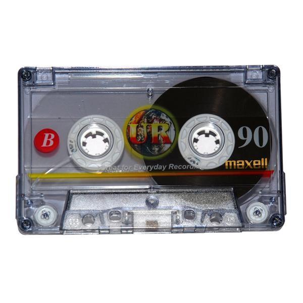 Maxell audiokazeta UR90 90min.