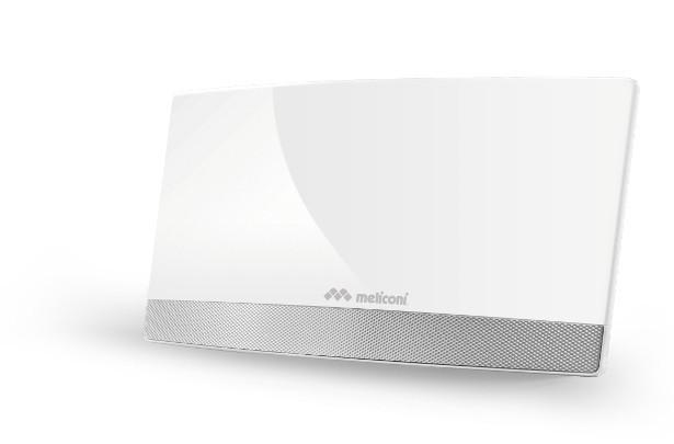 Meliconi AT 55 elegantní anténa se zesilovačem signálu TV ROZBALE