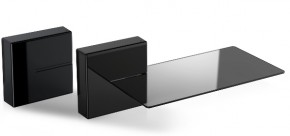 Meliconi GHOST CUBE shelf, černá 480521