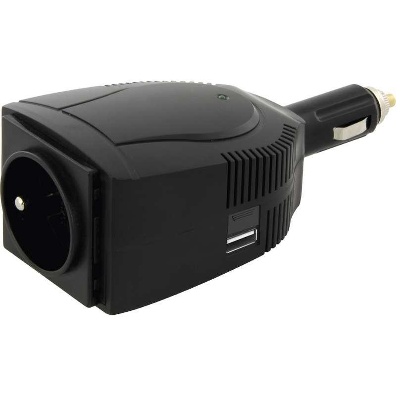 Měniče napětí Emos N0035, měnič napětí 12V/230V, 100W