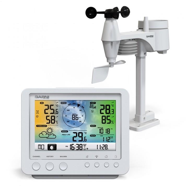 Meteostanice WiFi meteorologická stanice GARNI 975