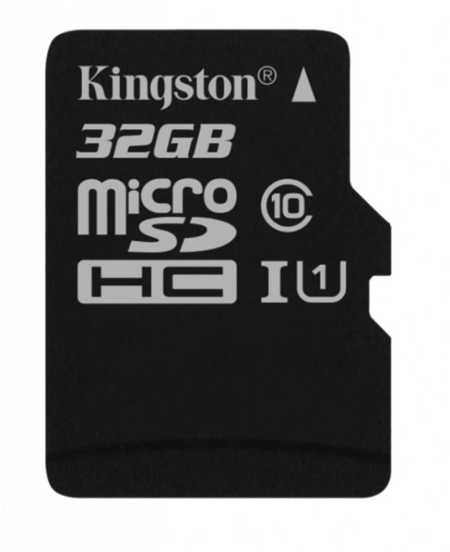 Micro SDHC 32GB microSDHC Kingston UHS-I U1 45R/10W