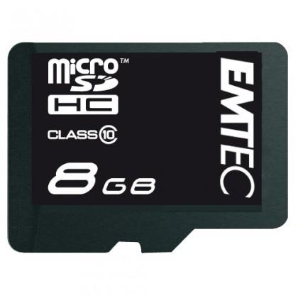 Micro SDHC EMTEC micro SDHC 8GB (Class 10)