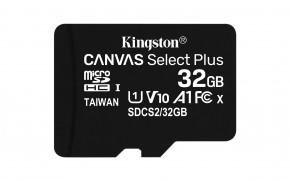Micro SDHC karta Kingston Canvas Select Plus 32GB (SDCS2/32GB)