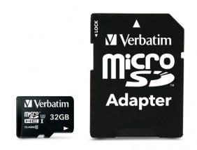 Micro SDHC karta Verbatim Pro 32GB (47041)