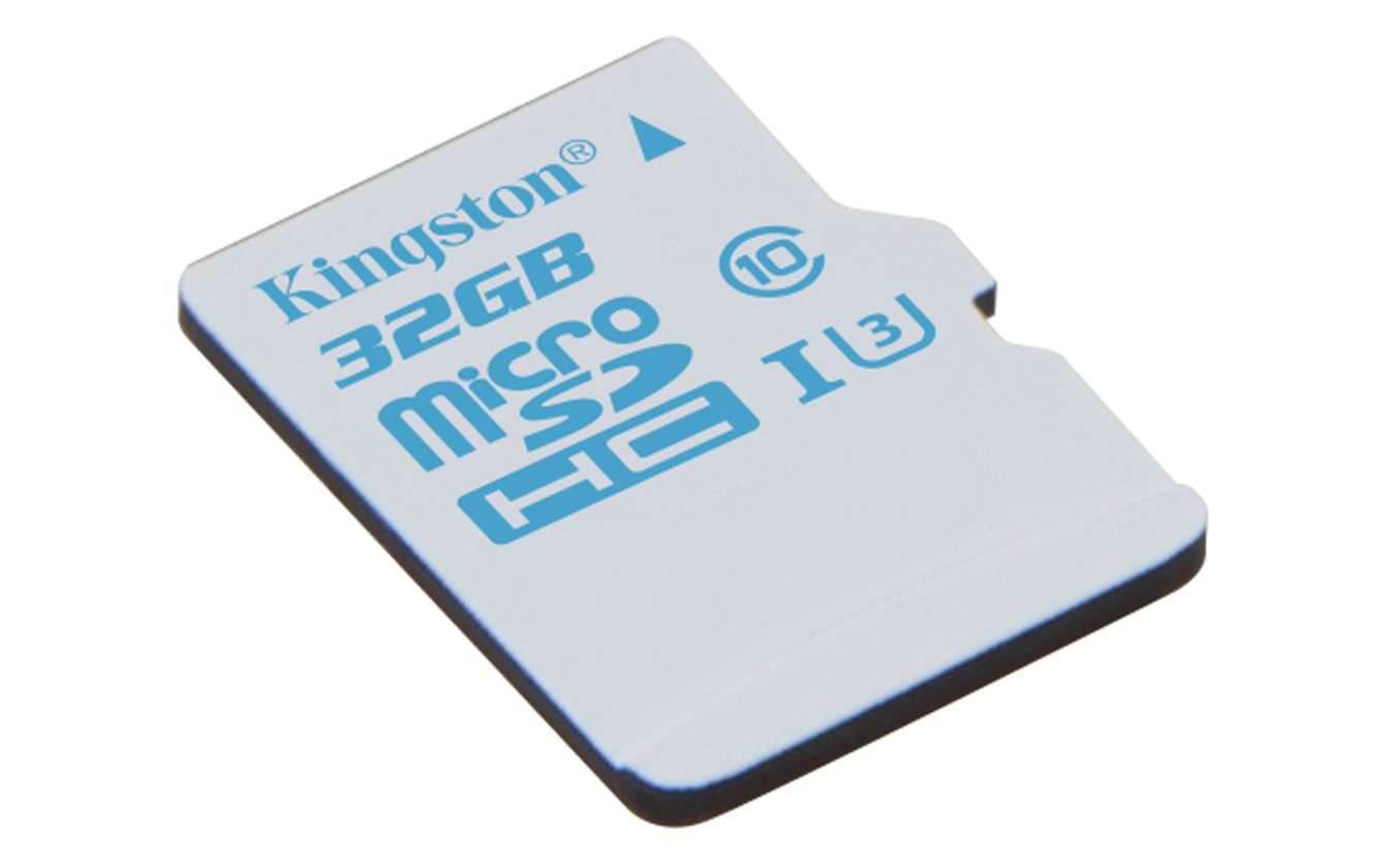 Micro SDHC Kingston Action Card Micro SDHC - 32GB UHS-I U3 SDCAC/32GBSP