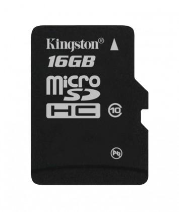 Micro SDHC Kingston micro SDHC 16GB Class 10