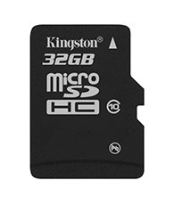 Micro SDHC Kingston Micro SDHC 32GB Class 10 - SDC10/32GBSP