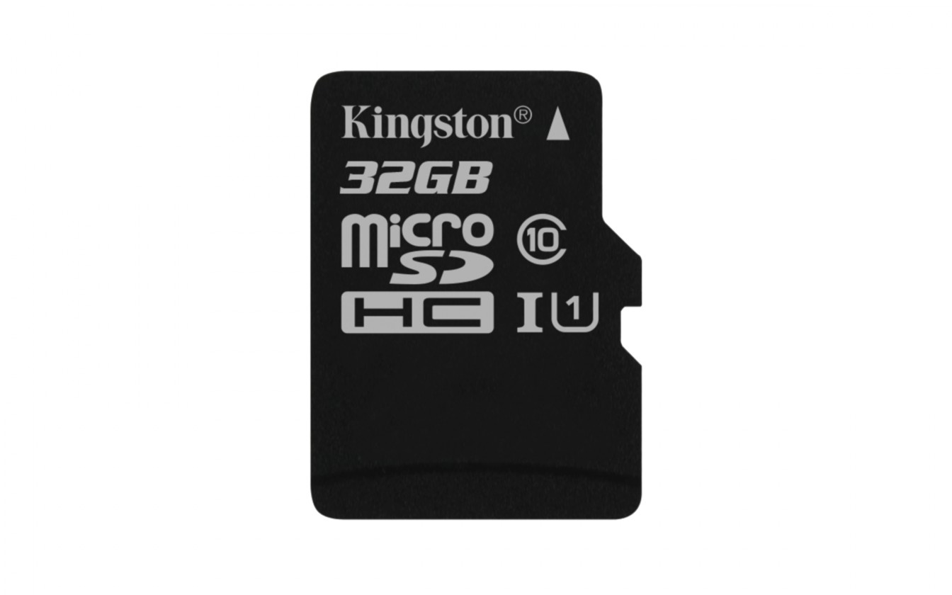 Micro SDHC Kingston Micro SDHC Canvas Select 32GB 80MB/s UHS-I  SDCS/32GBSP
