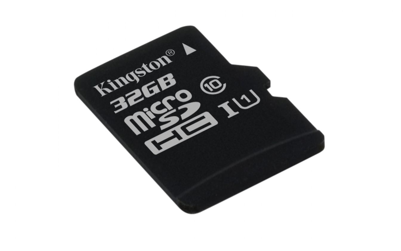 Micro SDHC Kingston MicroSDHC 32GB UHS-I U1 ROZBALENO