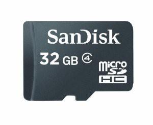 Micro SDHC SanDisk Micro SDHC 32GB (SDSDQM-032G-B35)