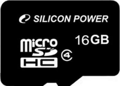 Micro SDHC SILICON POWER 16GB Micro SDHC Card Class 4/ 1x adapter