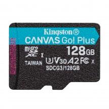 Micro SDXC karta Kingston Canvas Go! 128GB (SDCG3/128GBSP)