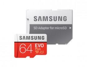 Micro SDXC karta Samsung EVO Plus 64GB (MB-MC64HA/EU)