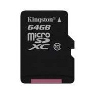 Micro SDXC Kingston micro SDXC 64GB Class 10