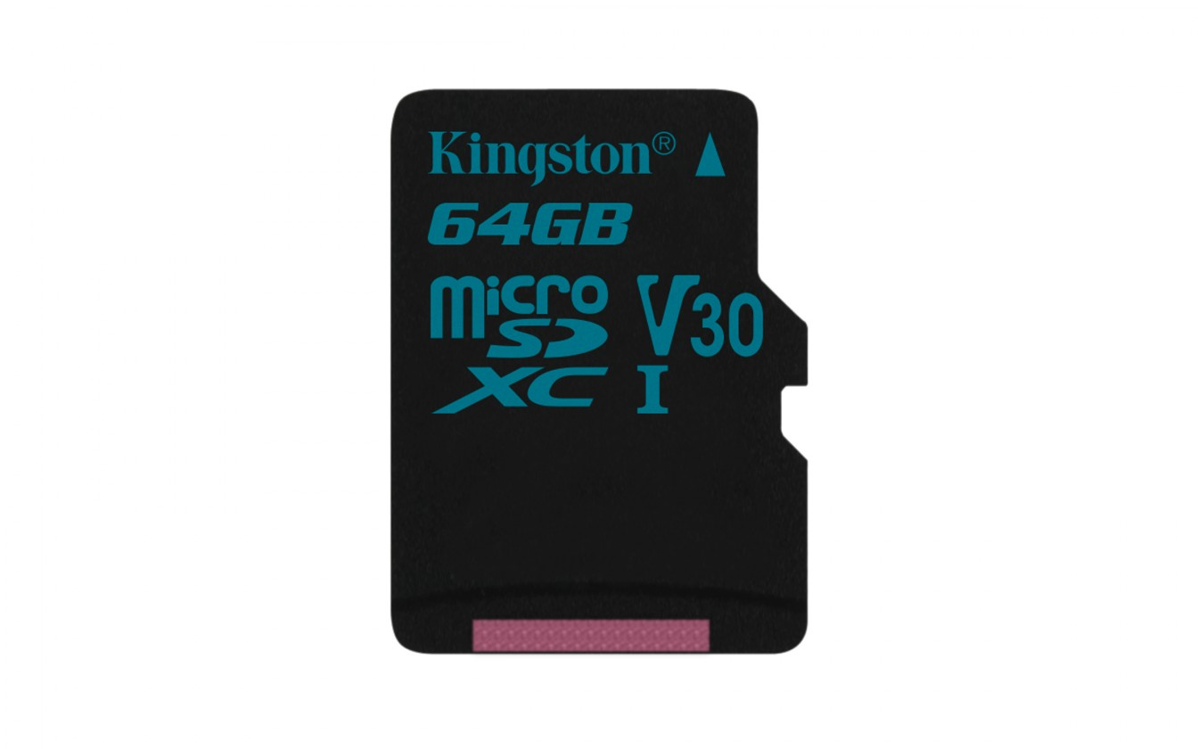 Micro SDXC Kingston Micro SDXC Canvas Go! 64GB 90MB/s UHS-I U3 SDCG2/64GBSP