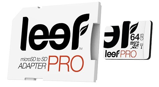 Micro SDXC Leef 64GB microSDXC PRO s adaptérem