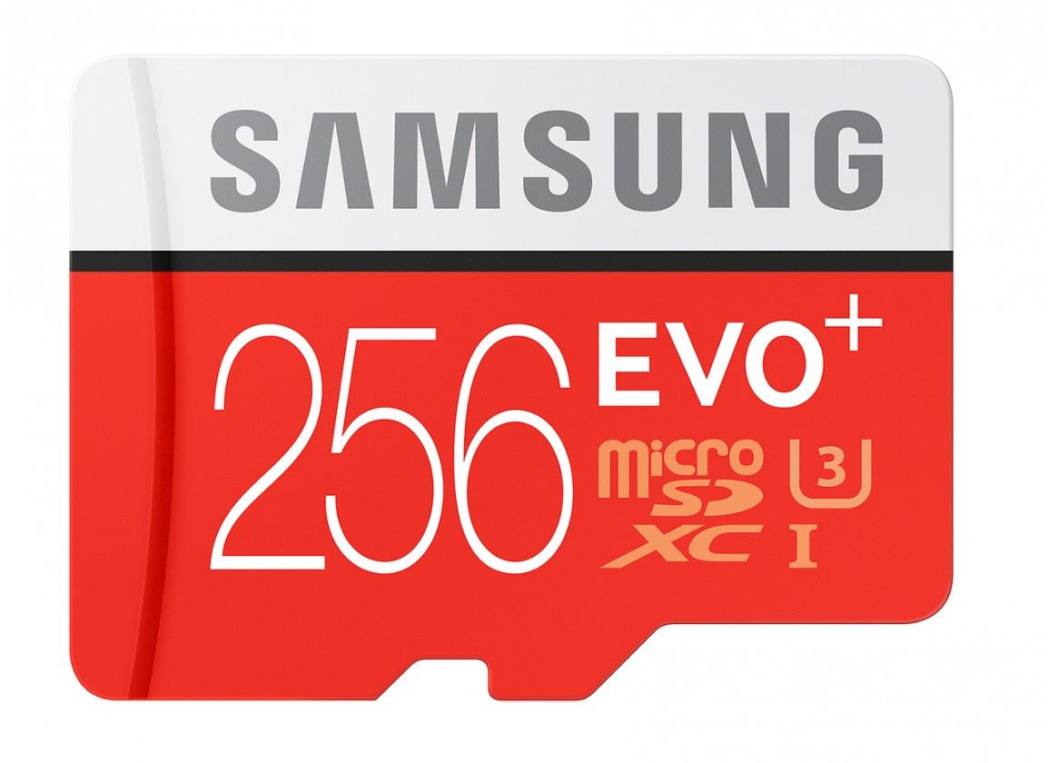 Micro SDXC Samsung EVO Plus microSDXC 256GB + adaptér, MB-MC256DA/EU
