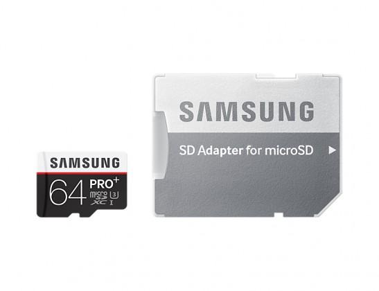 Micro SDXC SAMSUNG Micro SDXC 64GB Pro PLUS + adaptér MB-MD64DA/EU