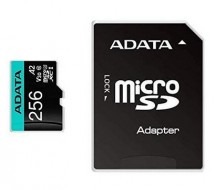 MicroSDXC 256GB U3 V30S až 95MB/s + adapter