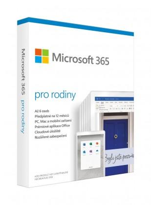 Microsoft 365 Family CZ (6GQ-01147)