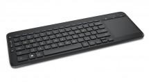 Microsoft All-in-One Media Keyboard USB CZ, černá ROZBALENO