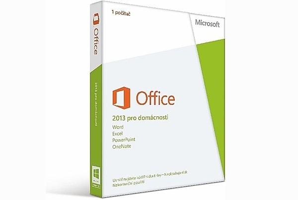 Microsoft Office 2013 pro domácnosti