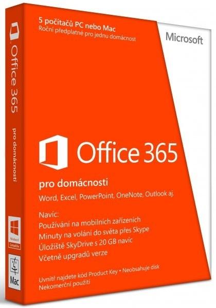 Microsoft Office 365 pro domácnosti 1 rok