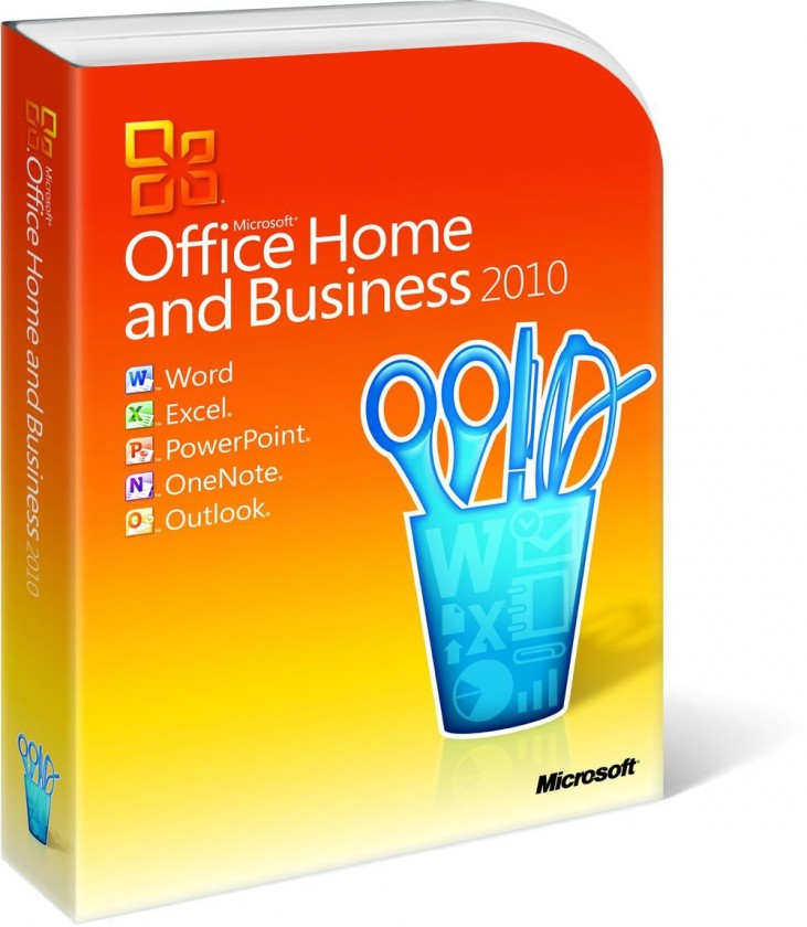Microsoft Office Home and Business 2010 (T5D-00156)