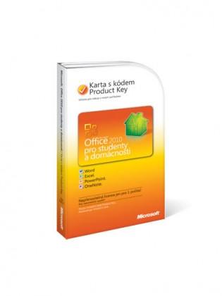Microsoft Office Home&Student 2010 CZ PC Attach Key (79G-02017)
