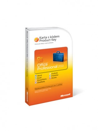 Microsoft Office Pro 2010 CZ PC Attach Key PKC CZ OEM (269-14831)